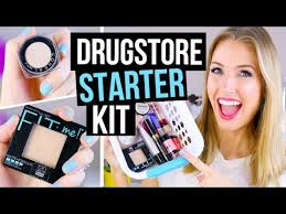 beginner makeup tips starter kit