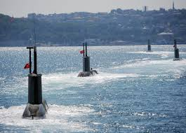 turkey launches homemade submarine program