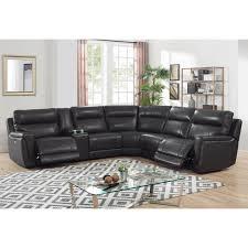zane 6pc sectional living room