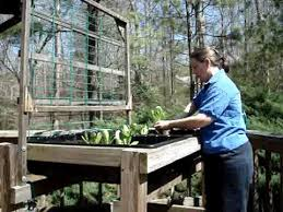 the waist high raised bed garden system