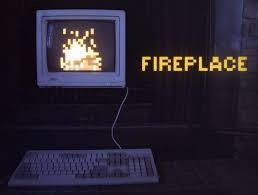interactive fireplace for your mac