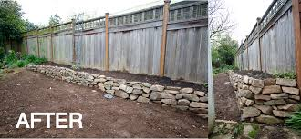 Rock Retaining Wall In Three Easy Steps Dress This Nest