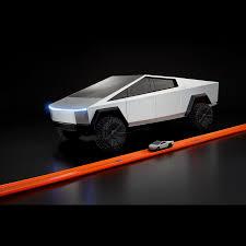 Mattel Tesla Cybertruck Model Comes Complete With Broken Window Decal