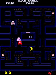 ping through ghosts in pac man
