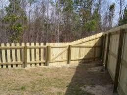 Wood Fencing Wyman S Fencing Backyard Fence Decor Backyard Fences Fence Planning