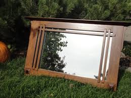 mirror missionstyle handcrafted wood by