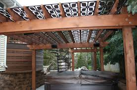 outdoor screens to add an elegant touch