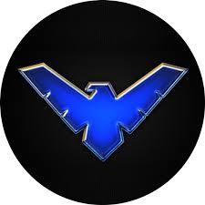 Sticker Emblem Logo Nightwing 2 Stickersmag