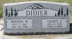 Vashti Geneva Sullivan Didier (1920-2003) - Find A Grave Memorial