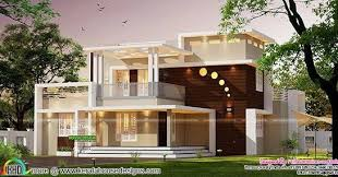 contemporary style home architecture
