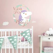 Roommates 18 In X 40 In Over The Rainbow 4 Piece Peel And Stick Giant Wall Decal Rmk1629gm The Home Depot
