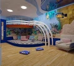 Aquarium Kids Room Theme Cool Kids Rooms Cool Loft Beds Awesome Bedrooms