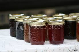 homemade jams and jellies this
