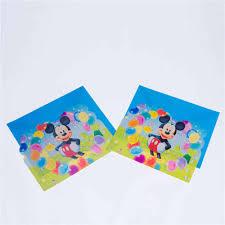 Mickey Tema Invitacion Tarjeta Fiesta Invitacion Bendicion Anime Dibujos Animados Fiesta De Cumpleanos Para Ninos Aliexpress