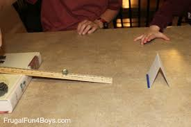 easy science experiments with momentum