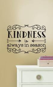 kindness wall quote home decor idea affiliate living room