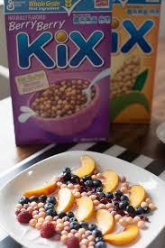 edible kix cereal art kix cereal