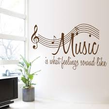 Shop Music Is What Feelings Sound Like Music Wall Decal Vinyl Overstock 19967119