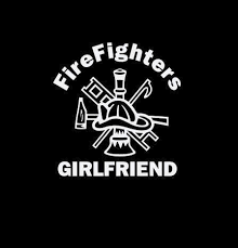 Firefighter Stickers Firefighters Girl Friend Crest Decal Custom Sticker Shop