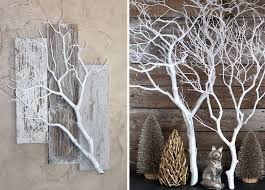 diy wall decor using tree branches