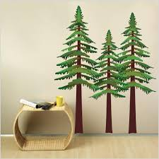 Pine Trees Wall Decal Studiowalldecals