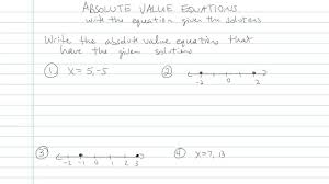 absolute value equations problem 8