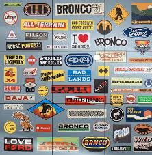 Today S Teaser Ford Bronco Stickers Preview Paint Colors And Trims Bronco6g 2021 Ford Bronco Forum News Blog Owners Community