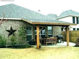 attach roof over deck from house