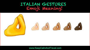 italian hand gestures pinched fingers