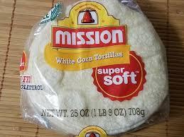 white corn tortilla nutrition facts