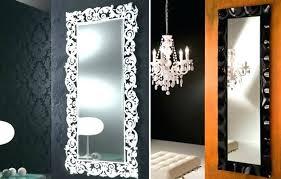 tall thin gold mirror furniture narrow