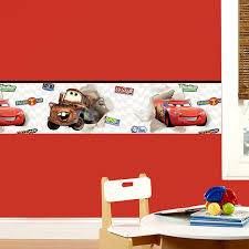 Wall Border Stickers For Children S Bethroom Disney Cars Muraldecal Com