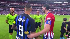 Atletico Madrid vs Inter Milan Full Match (First Half) - YouTube
