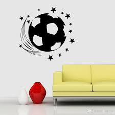 3d Football Soccer Playground Window View Home Decals Wall Sticker For Boys Room Sports Decor Mural Sticker Murals Sticker On The Wall From Kity12 3 42 Dhgate Com
