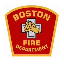 Boston Fire Department Window Decal