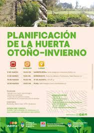 Bordenave: Planificación de la huerta otoño-invierno   Instituto Nacional  de Tecnología Agropecuaria