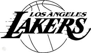 Los Angeles Lakers Vinyl Car Sticker Decal Any Color 105437555