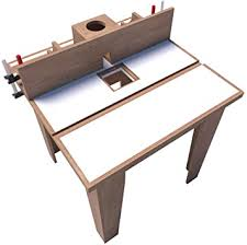 Router Table Plans Diy Woodworking Equipment Wood Cutting Shaper Build Your Own Amazon Com