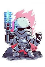 star wars a cute stormtrooper