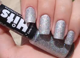 fashionable silver manicure 100 ideas
