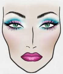 ion face chart basix cosmetics