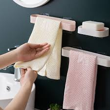 bathroom towel bar shelf self adhesive