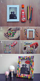 best diy photo and picture frame crafts