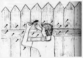 The Fence There Once Was A Little Boy Who Had A Bad Temper Bag Of Nails Angry Words Stories For Kids
