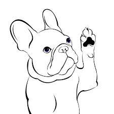 French Bulldog Vectoren Illustraties En Clipart 123rf