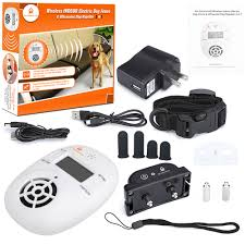 Wireless Indoor Electric Dog Fence System Pet Barrier Electronic Shock Collar
