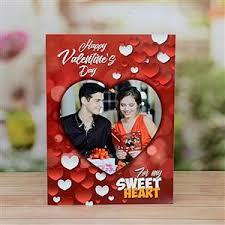 valentine personalized card