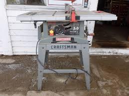 Craftsman Table Saw Manannah 290 Ammo Collectibles Drill Press Table Saw K Bid