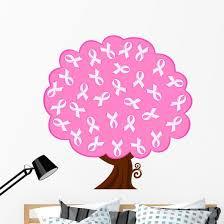 Vector Illustration Breast Cancer Wall Decal Wallmonkeys Com