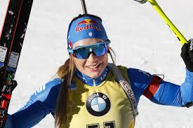 Biathlon, Dorothea Wierer bussa alla porta delle dieci biathlete ...